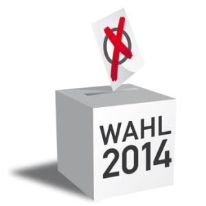 Wählen 2014, Wahlurne