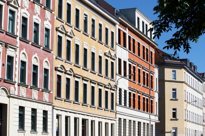 Wohnen in Stötteritz lohnt sich. Viele Häuser sind saniert und die Mieten teils noch moderat.