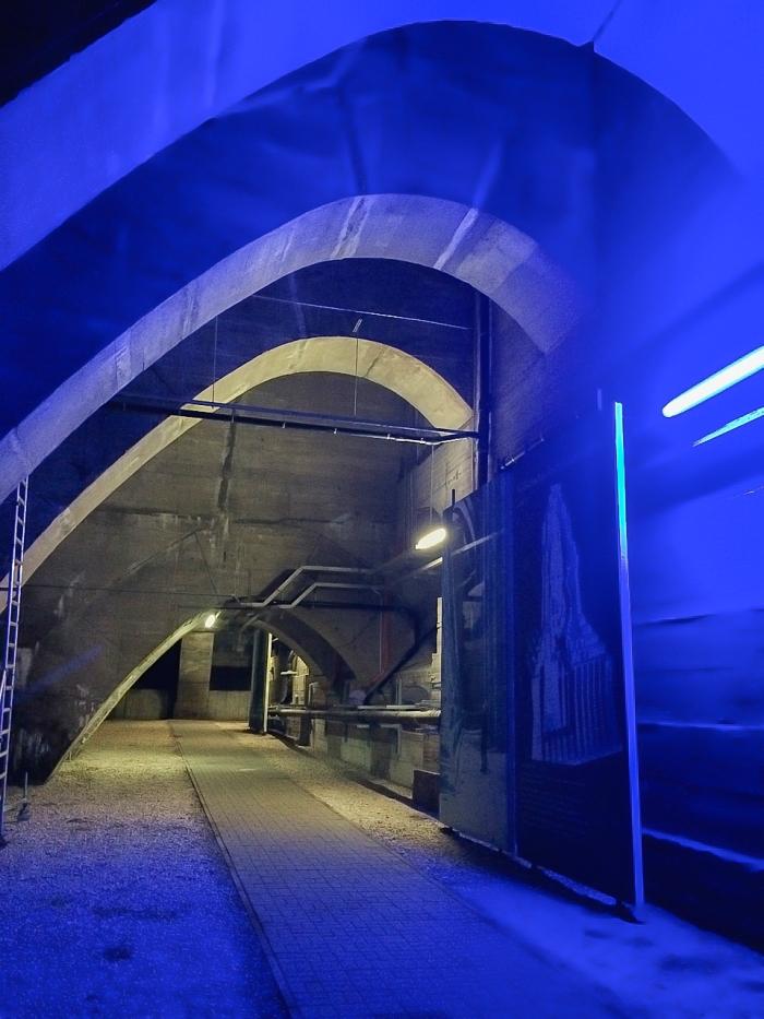 Das Innere des Völkerschlachtdenkmals.